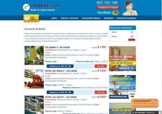 La importancia de una web sobre viajes