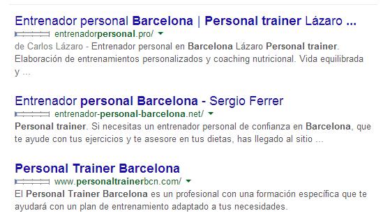 Entrenador personal o personal trainer Valencia