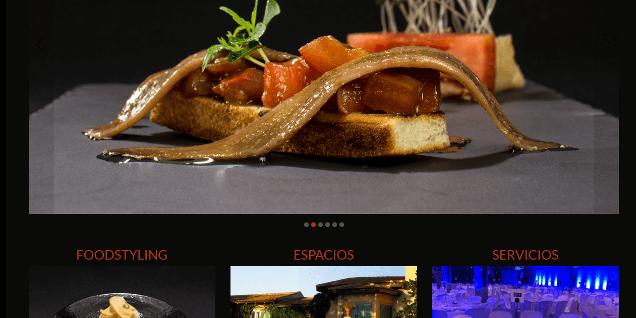 Marketing online para catering