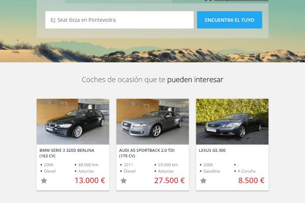 coches de segunda mano en Lugo