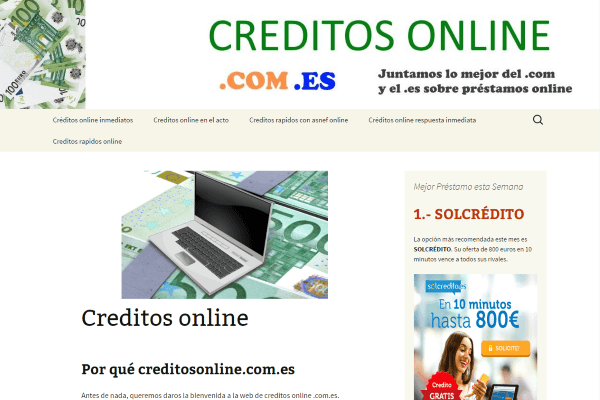 Inbound Marketing para Creditos Online